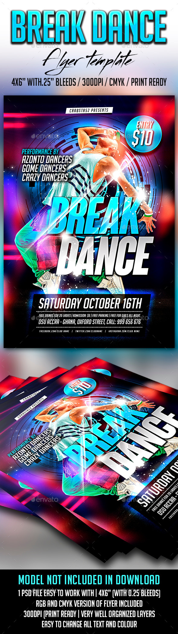 break_dance_flyer_template