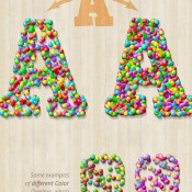 candy_text_creator_photoshop_actions