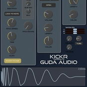 Guda audio kickr logo icon