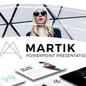 Martik powerpoint template icon