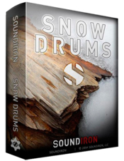 Soundiron snow drums box icon