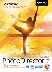 Cyberlink photodirector ultra 7 flat box icon