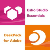 Esko studio and deskpack for adobe logo icon