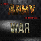 Army photoshop styles 12850605 icon