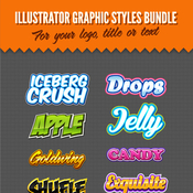 Illustrator logo graphic styles bundle 1 9434136 icon