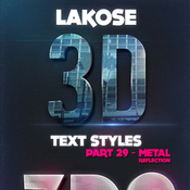 Lakose 3d text styles part 29 11975507 icon