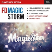 Magic storm photoshop action 11685608 icon