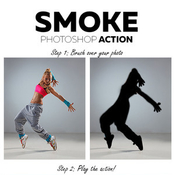 Smoke photoshop action 12013136 icon
