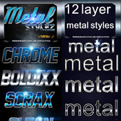Text fx big metal bundle 11798784 icon