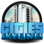 Cities skylines game rounded logo icon icon
