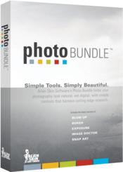 Alien skin software photo bundle boxshot icon