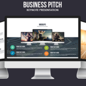 Business pitch keynote template by creative slides 890585 icon