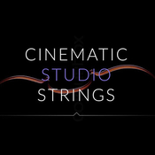 Cinematic studio strings icon
