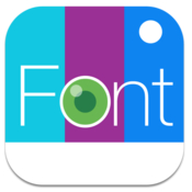 Fontography fonts typography photo effects for photos icon