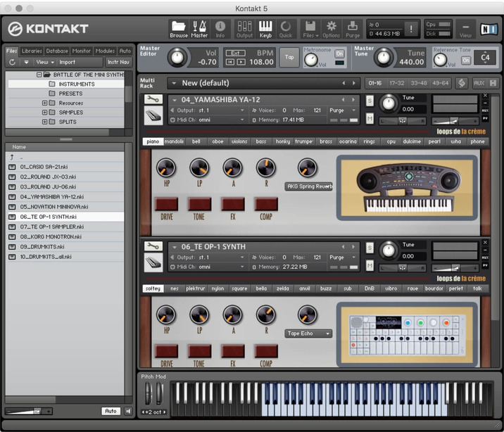 loops_de_la_creme_battle_of_the_mini_synths_kontakt