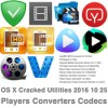 Os x cracked utilities 2016 10 25 players converters codecs icon