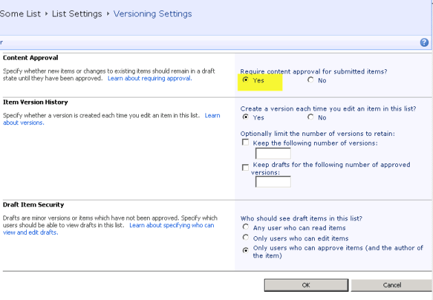 How To Create An Editable Sharepoint Datasheet View With Content Approval Turned On Raymund Macaalay S Dev Blog