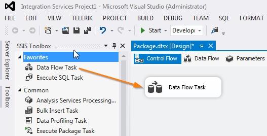 03 New Data Flow Task