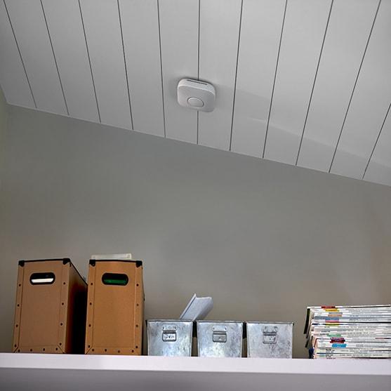 détecteur de fumée connecté Nest