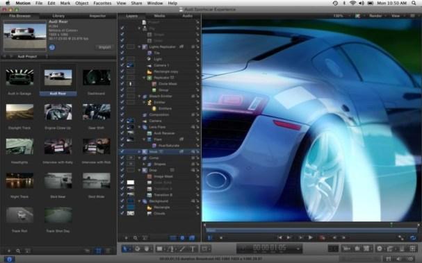 Apple Motion mac