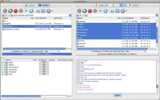 CrossFTP windows
