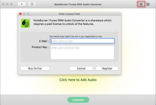 NoteBurner iTunes Audio Converter windows