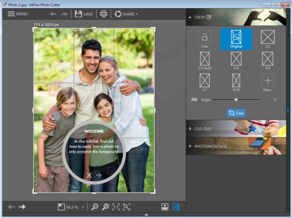 InPixio Photo Clip windows