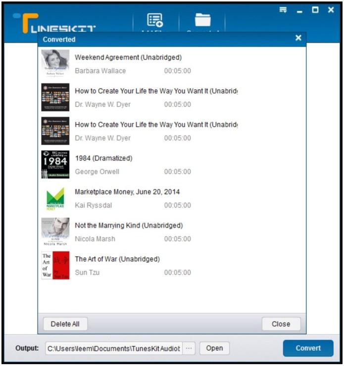 TunesKit Audiobook Converter mac
