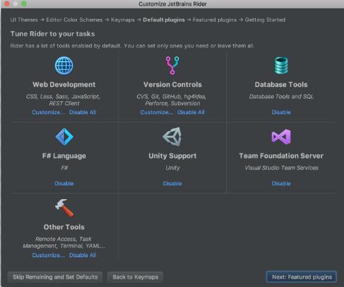JetBrains Rider mac