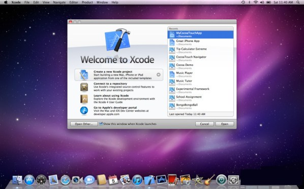 Apple Xcode mac
