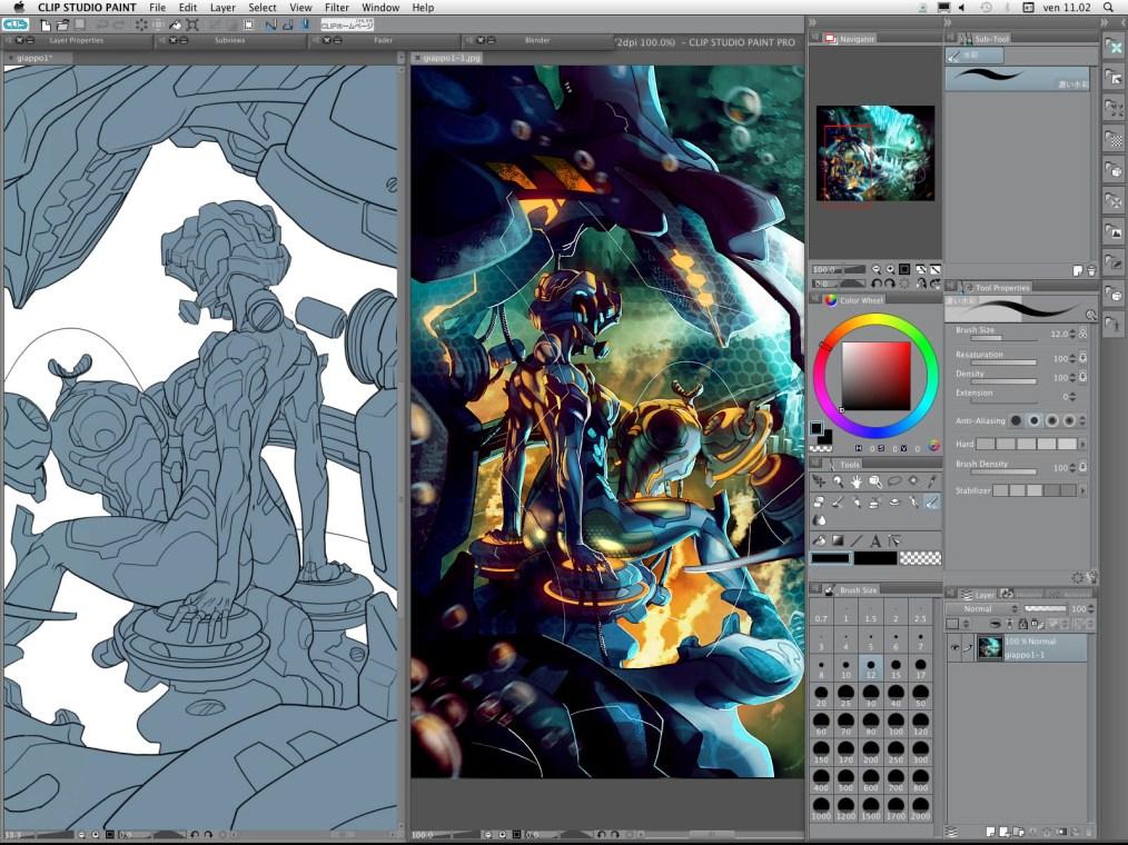 Clip Studio Paint Ex Mac