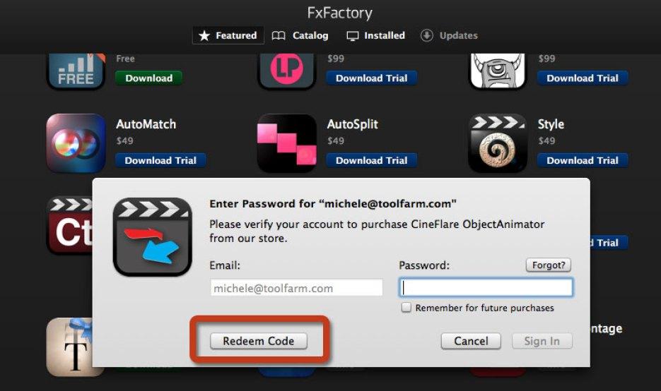 FxFactory Pro mac