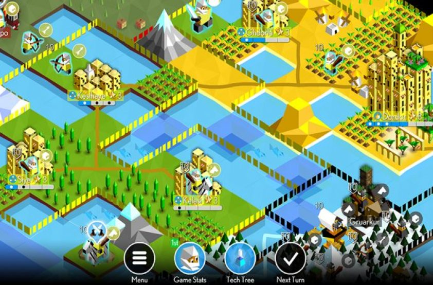 The Battle of Polytopia Mac