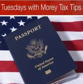 Entity for Tax Planning Passport