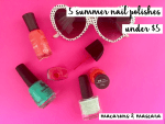 5 summer nail polishes under $5