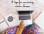 10 tips for surviving winter classes