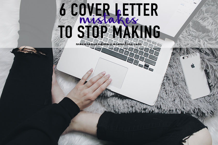 6 Terrible Cover Letter Mistakes To Stop Making Her Campus