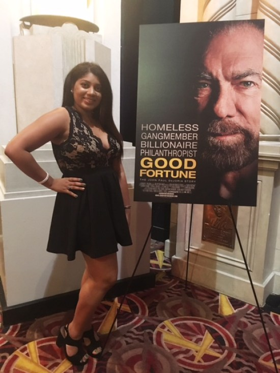 red carpet premiere of good fortune