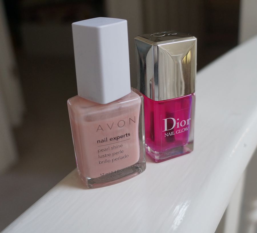 NOOTD: Perfect sheen with Dior\'s Nail Glow - Macarons and Mischief