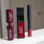 Three Lip Products for Fall from Bite Beauty, NYX, and Revlon