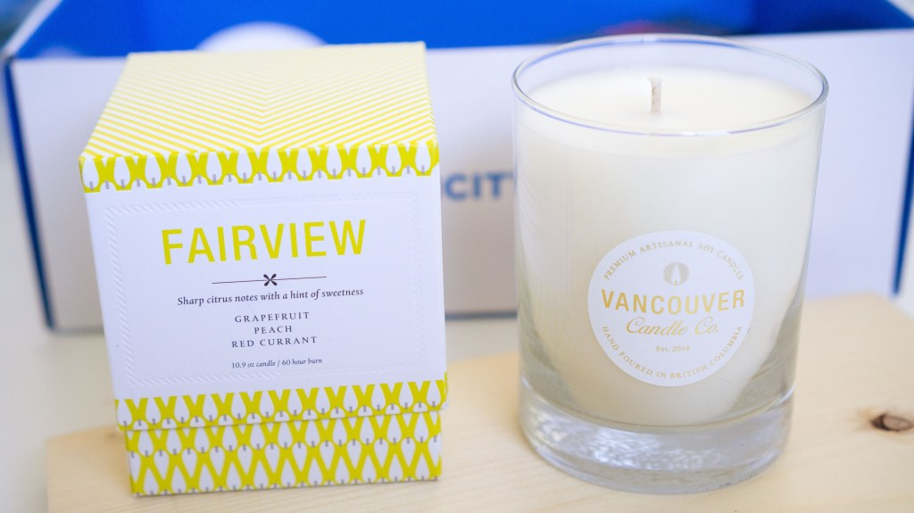 vancity box vancouver candle -1