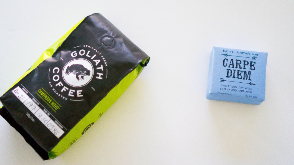 january vancity box goliath coffe carpe diem soap (2 of 1)
