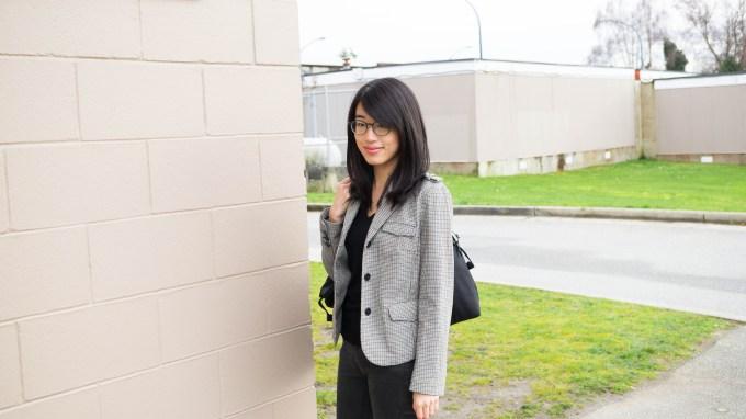 ootd black sweater and blazer-1