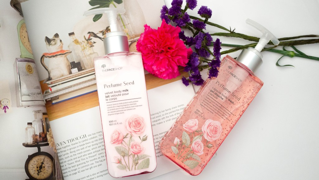THEFACESHOP Perfume Seed Body Milk + Body Wash Duo