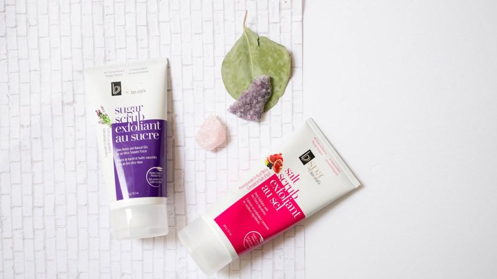 BVspa Salt Scrub Exfoliant & Sugar Scrub Exfoliant