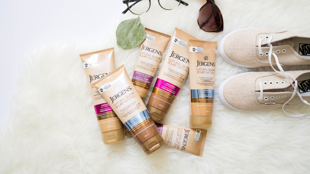 Which Jergens are you? || New Natural Glow Collection + Giveaway!