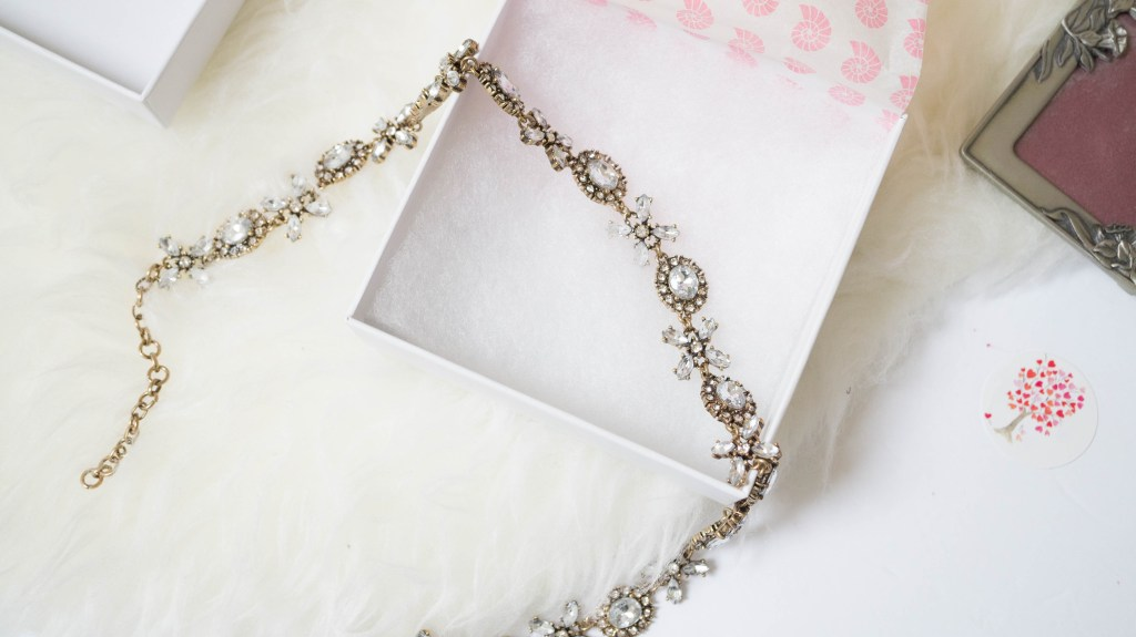 happiness boutique jasmine blossom statement necklace (3 of 6)