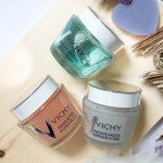 Vichy Mineral Masks – Pore Purifying Mask, Quenching Mineral Mask, Double Glow Peel Mask