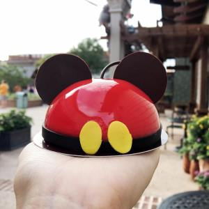happiness in the form of a mickey mousse!