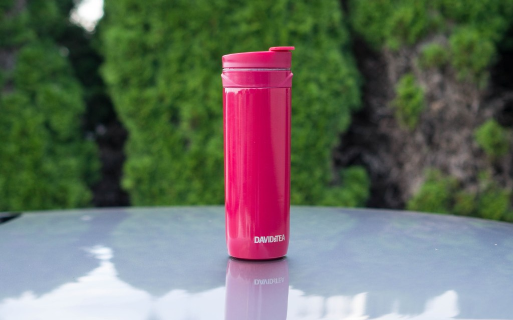 Hot AND Iced Tea on the go?! David's Tea Tea Press!